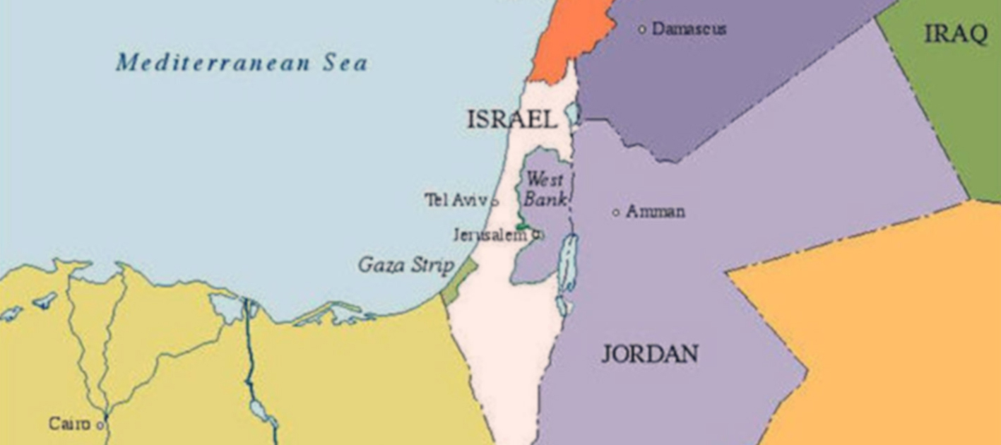 """Why Isn't Palestine on Our Map?"" An Introduction to the Middle East for Third Graders"