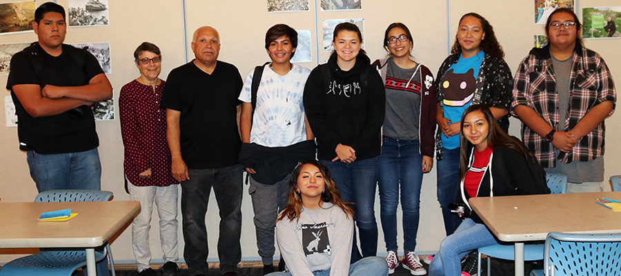Teach Palestine Project Connects with New Mexico's Indigenous History