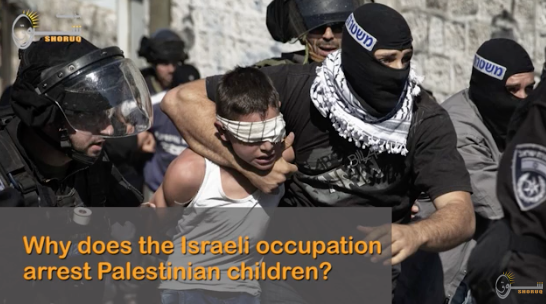 980 Palestinian Children Arrested in 2018