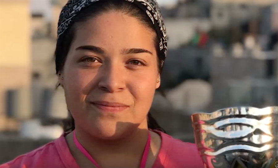 Palestinian Girls Make Videos about Their Lives