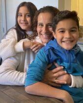 Samia Shoman, Ed.D and children